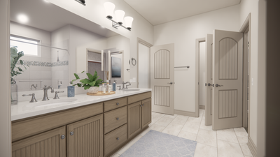 Master Bath - The Livingston | Rendered Home - May Contain Upgrades and Plan Changes Tilson Custom Home Photo