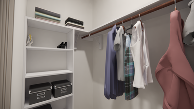 Master Closet - The Livingston | Rendered Home - May Contain Upgrades and Plan Changes Tilson Custom Home Photo