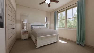 Bedroom 3 - The Cedar Creek | Rendered Home - May Contain Upgrades and Plan Changes Tilson Custom Home Photo