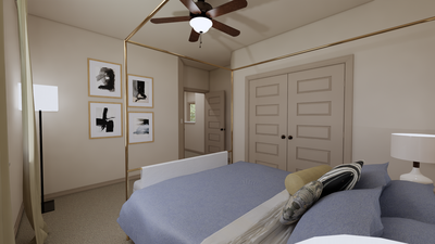 Bedroom 4 - The Cedar Creek | Rendered Home - May Contain Upgrades and Plan Changes Tilson Custom Home Photo
