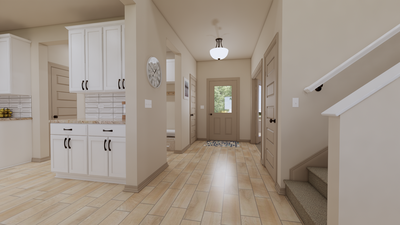 Foyer - The Cedar Creek | Rendered Home - May Contain Upgrades and Plan Changes Tilson Custom Home Photo