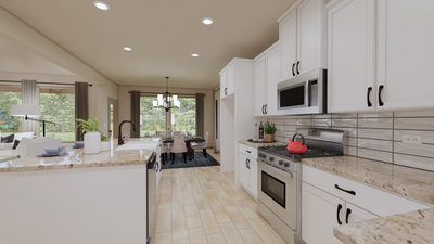 Kitchen - The Cedar Creek | Rendered Home - May Contain Upgrades and Plan Changes Tilson Custom Home Photo