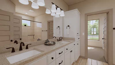 Master Bathroom - The Cedar Creek | Rendered Home - May Contain Upgrades and Plan Changes Tilson Custom Home Photo