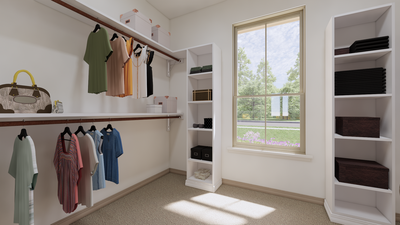 Master Closet - The Cedar Creek | Rendered Home - May Contain Upgrades and Plan Changes Tilson Custom Home Photo