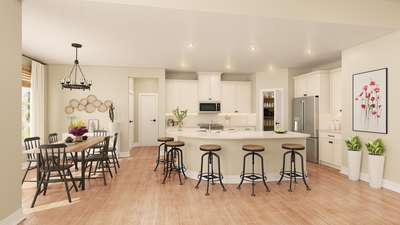 Standard Kitchen - The Canyon   Rendering of Standard Layout Tilson Custom Home Photo