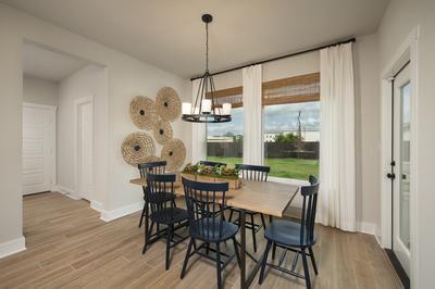 Alternate Kitchen - Canyon Model in Bryan Tilson Custom Home Photo