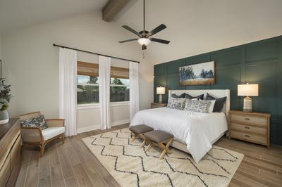 Master Bedroom - Canyon Model in Bryan Tilson Custom Home Photo