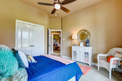 Family Room - The San Jacinto Model in Spring Design Center Tilson Custom Home Photo