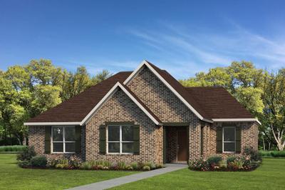 Elevation A | The Live Oak Tilson Custom Home Photo