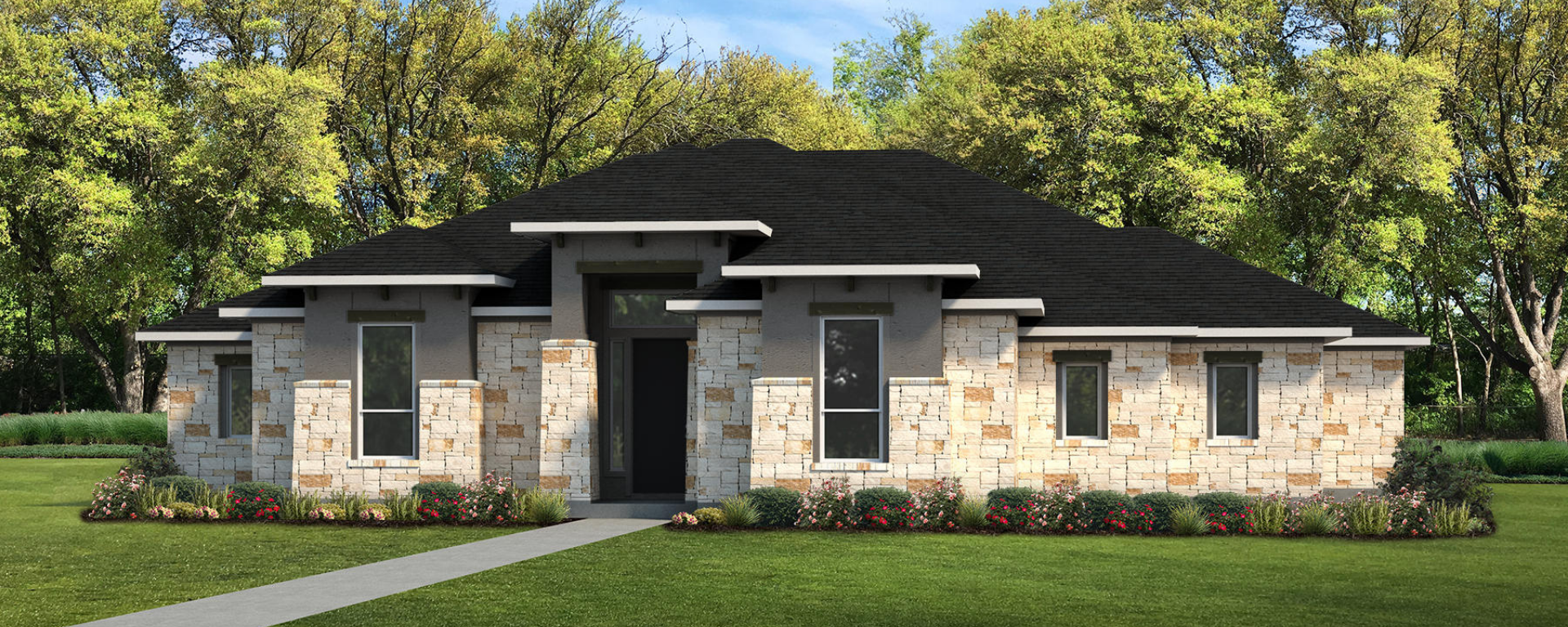 The Palo Duro Custom Home Plan from Tilson Homes